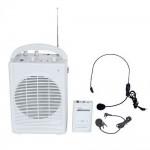 Microfone CSR T-120B c/ caixa amplificada