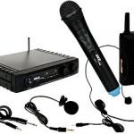 Microfone SKP UHF 271 multiuso